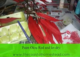 okra santa ornaments budget friendly diy gifts the coastal