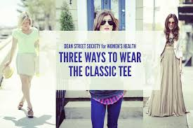 the effortless chic how to style a classic t shirt dean street society