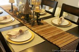 beautiful christmas table runner patterns 7346