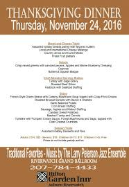 thanksgiving remarkableving dinner menu traditional buffet