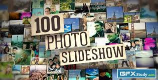 100 photo slide show after effects project videohive