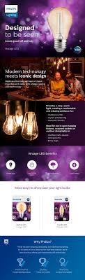 philips 25 watt equivalent vintage soft white a15 led light bulb