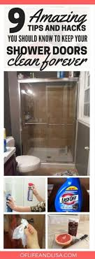 How To Keep Shower Door Clean How To Clean Shower Doors Clean Shower Doors Clean Shower And
