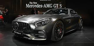 2017 mercedes amg gt range updated gt c coupe added photos 1