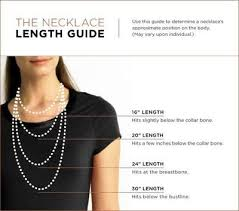 collar length necklace images Necklace length guide great reference for ordering online jpg