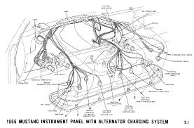 1965 ford mustang wiring diagram gooddy org