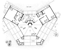 contemporary floor plan 16 best tree house plans images on octagon house