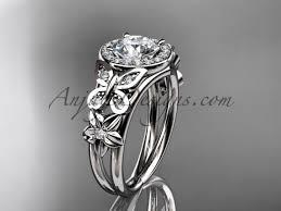 diamond flower rings images Butterfly bridal rings platinum floral diamond ring adlr524 jpg