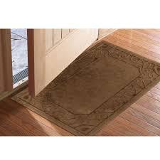 low profile microfiber door mats at brookstone buy now