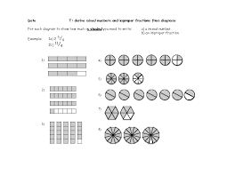 fractions to mixed numbers worksheet u0026 convert mixed number to