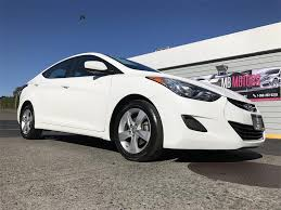hyundai elantra white 2013 hyundai elantra gls sedan for sale in ferndale wa 0