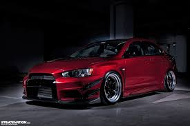 mitsubishi lancer stance mitsubishi x subaru iacro x china stancenation form