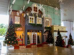 indonesia jakarta 2011 christmas decoration in malls grand