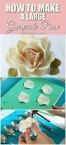 How To Make Sugar Glue Cake Decorating How To Make A Large Gumpaste Rose I Scream For Buttercream