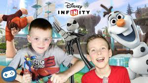 disney infinity 3 0 toy box fun wreck ralph olaf gameplay