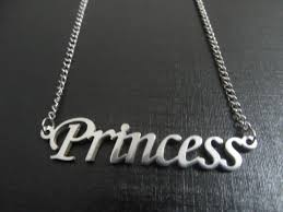 stainless steel name necklace images 30pcs princess name necklace pendant stainless steel jewelry with jpg