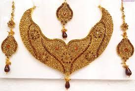 necklace sets designs images Bridal jewellery sets designs kundan gold pearl myshoplah jpg