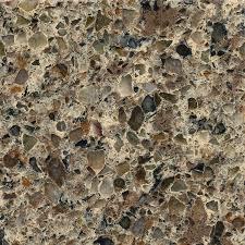 Lowes Kitchen Countertop - shop silestone sienna ridge quartz kitchen countertop sample at