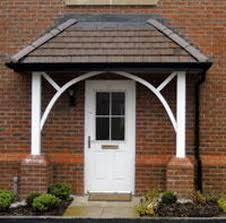 Exterior Door Awnings How To Build An Awning Frame From Wood Metal Awnings For Front