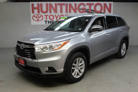 certified toyota highlander certified pre owned 2014 toyota highlander bse sport utility in