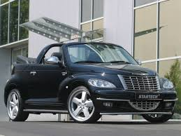 2005 startech chrysler pt cruiser convertible side angle