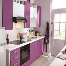 cuisine en violet cuisine moderne blanche ikea galerie et cuisine équipée violet