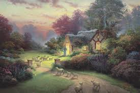 shepherd s cottage the kinkade galleries of new