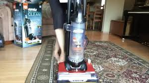 eureka brushroll clean pet upright vacuum with suction seal