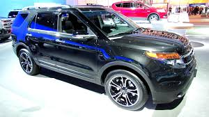 Ford Explorer All Black - 2013 ford explorer sport ecoboost 4wd exterior and interior