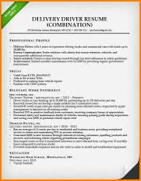 Combination Resume Sample by 4 Drivers Resume Samples Cashier Resumes