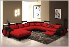 Sofas With Recliners U Shaped Sectional Sofa With Recliners Sofa Home Furniture