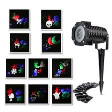 outdoor led image motion projection light with 10 festival slides