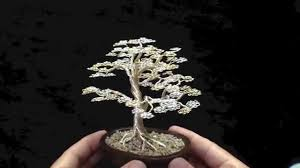 bonsai tree wire sculpture tree of gondor