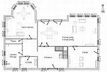 architecture floor plan architectural plan