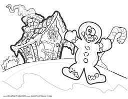 gingerbread coloring page coloring page for summer holidays fun printable pages 450916