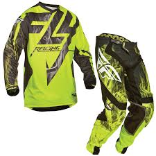 green motocross gear fly racing 2015 lite hydrogen racewear enduro quad mx black hi viz