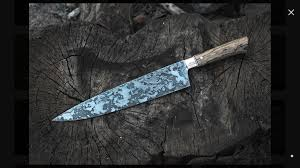 custom made chefs knife texags