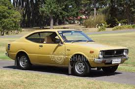 yellow toyota sold toyota corolla ke35 coupe auctions lot 1 shannons