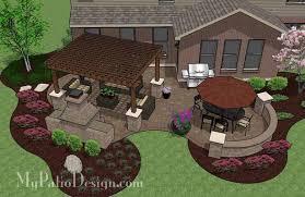 Designs For Backyard Patios Backyard Patio Plans