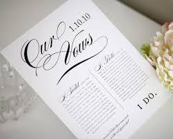 wedding ideas creative ways to display wedding vows creative