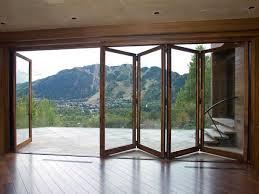 Patio Doors Bifold Folding Patio Glass Doors Marvin In Bifold Decorations 9