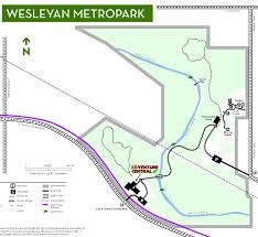 Dayton Ohio Zip Code Map by Wesleyan Metropark Five Rivers Metroparks