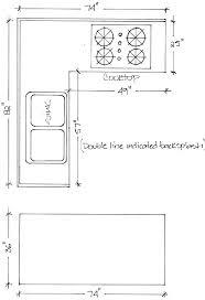 standard kitchen island dimensions kitchen island with sink dimensions sinks design measurements