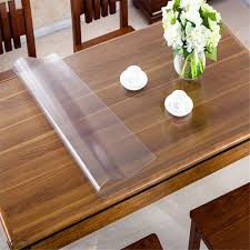 Dining Room Table Covers Protection clear dining room table protector decor