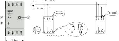 rcp relay dan phase failure relay
