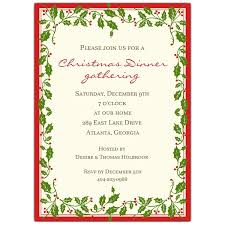 christmas invitations ribbon border christmas invitations paperstyle