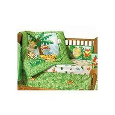 Rainforest Crib Bedding Animals Of The Rainforest 4 Crib Bedding Set Baby