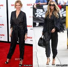 how does kelly ripa style her hair who wore stella mccartney better cameron diaz elle macpherson