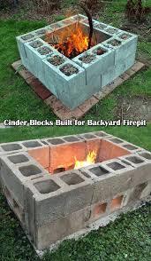 Backyard Firepit Ideas Best 25 Build A Fire Pit Ideas On Pinterest How To Build A Fire