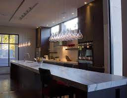 Contemporary Island Lights by Trendy Kitchen Island Lighting 3 Glass Pendant Lights Granite